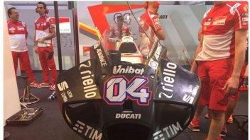 MotoGP: Ecco la nuova carenatura Ducati 'manta'