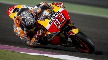 MotoGP: Marquez: tre cadute? colpa mia, ma dovevo spingere