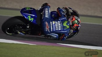 MotoGP: Yamaha fa tris in Qatar: 1° Vinales, 2° Rossi, 3° Folger