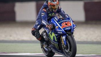 MotoGP: Vinales alle stelle, Valentino a terra
