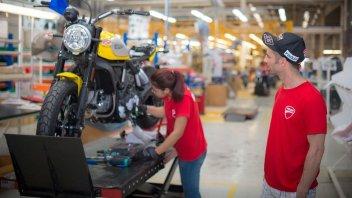 News Prodotto: Una giornata in fabbrica per Marco Melandri