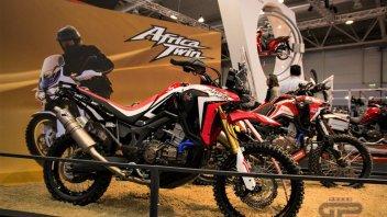 News Prodotto: Honda Africa Twin Rally: al Motodays la versione definitiva