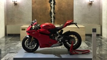 News: La Ducati 1199 Panigale a 'Design italiano nel mondo'