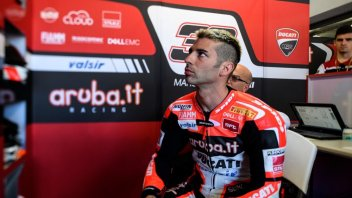 "SBK: Melandri: ""Davies and I allies and main rivals"""