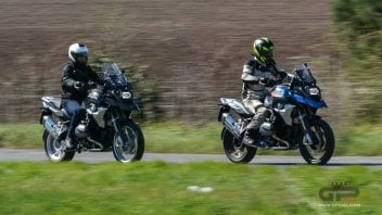 Test: BMW R 1200 GS Rallye Vs Exclusive 2017 – dubbio: quale scegliere?
