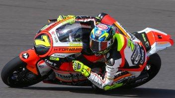 Moto2: FP1: Baldassarri apre le danze davanti a Morbidelli