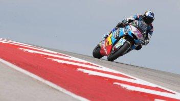 Moto2: FP2: Solo Marquez meglio di Morbidelli, 6° Pasini