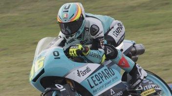Moto3: FP1: Mir precede Rodrigo, 3° Bulega