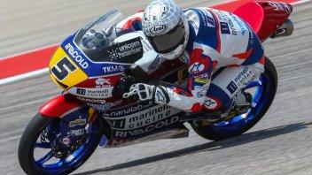 Moto3: FP3: Fenati svetta in Texas, 5° Bastianini