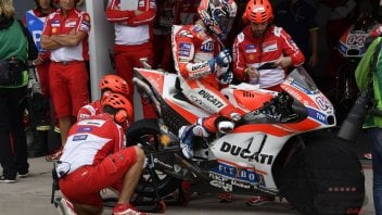 MotoGP: Dovizioso: sono arrabbiato per venerdì, non per oggi