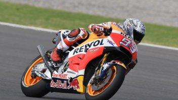 MotoGP: Marquez, pole fenomenale sul bagnato a Rio Hondo, 7° Rossi