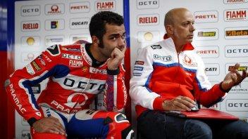 MotoGP: Petrucci: la seconda fila? E' una maledizione