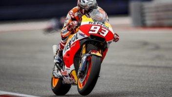 MotoGP: Marquez conquista l'America, Rossi in testa al Mondiale