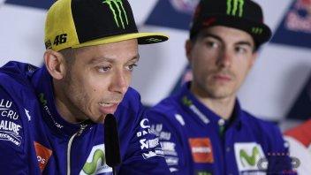 MotoGP: Rossi: un film su di me? il rivale sarebbe Biaggi