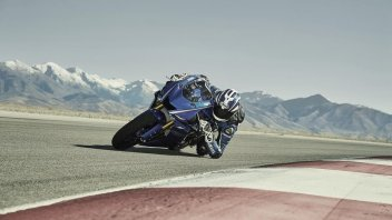 Moto - News: Yamaha YZF-R6 2017: ecco il VIDEO a 360° in pista