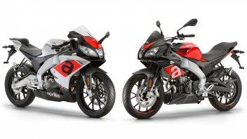 Moto - News: Aprilia RS e Tuono 125: piccole tentazioni per sognare in grande
