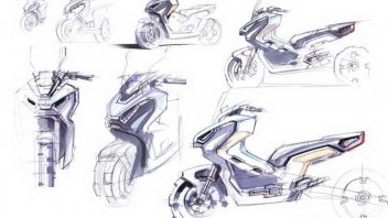 News Prodotto: L'Honda X-ADV incontra il mondo dell'arte: a tutto design