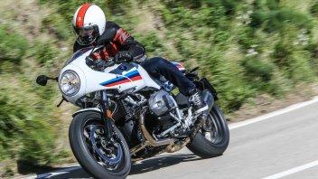 Test: BMW R nineT, Pure e Racer 2017: Godere per credere!
