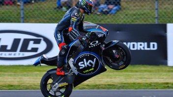 Moto2: FP3: Bagnaia beffa Morbidelli a Le Mans