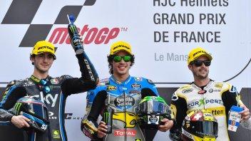 Moto2: Morbidelli: questa vittoria mi ha sorpreso