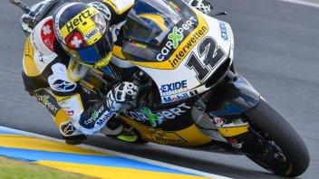 Moto2: QP: Luthi pole e record a Le Mans. Bagnaia 2°