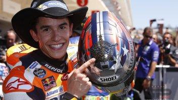 MotoGP: Marquez: in MotoGP siamo tutti aggressivi, Rossi non si lamenti