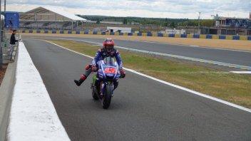 MotoGP: Le Mans: test rovinati dalla pioggia, vola Vinales