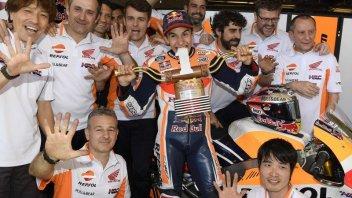 MotoGP: A Jerez Marquez mette nel mirino i successi di Lawson