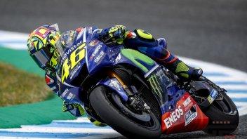 MotoGP: Valentino Rossi: un altro difficile venerdì