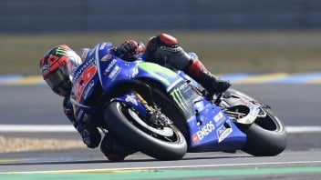 MotoGP: Viñales on the throne at Le Mans, Rossi and Marquez in the gravel