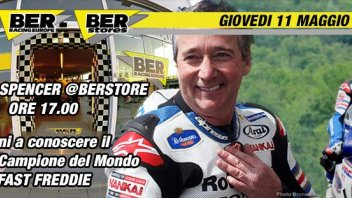 MotoGP: Freddie Spencer at Ber Racing in Modena