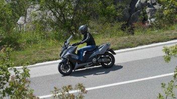 Moto - News: Kymco AK550: in arrivo a Giugno ad un prezzo promo di 9.190 euro