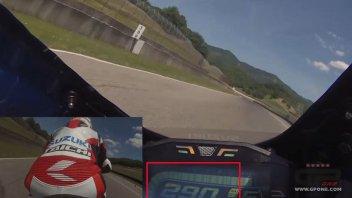 News Prodotto: Kevin Schwantz: brividi al Mugello con Suzuki GSX-R