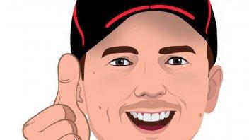"News: Jorge Lorenzo launch his own personalized ""emojis"""