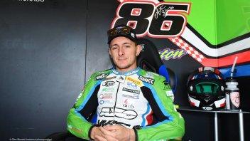 "SBK: Badovini defends himself: ""I couldn't exit the track"""