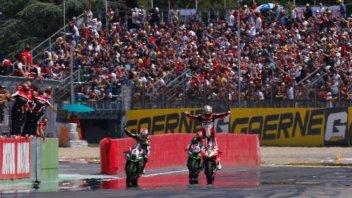 SBK: A Imola in 75 mila per il trionfo di Chaz Davies e la Ducati