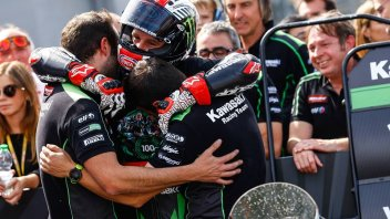 SBK: Rea: the Kawasaki was competitive like never before