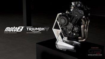 Moto2: Moto2: arriva la Triumph dal 2019