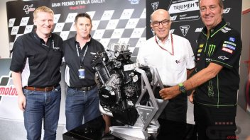 Moto2: Motori Triumph per la Moto2 dal 2019 al 2021
