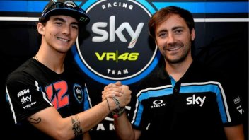 Moto2: Francesco Bagnaia con lo Sky Racing Team VR46 anche nel 2018