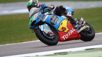 Moto2: Morbidelli si conferma anche nel warmup, 8° Corsi