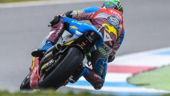 Moto2: FP3: Morbidelli si conferma anche sul bagnato