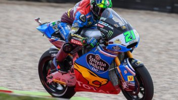 Moto2: Pole a Morbidelli, paura per Baldassarri
