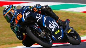 Moto3: l'Italia s'è desta: Migno vince su Di Giannantonio