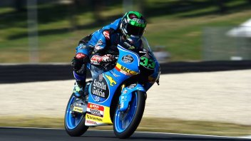 Moto3: FP3: Solo Canet meglio di Bastianini... ma Mir è lì
