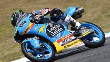 Moto3: FP1: Bastianini e Fenati beffati da Oettl ad Assen