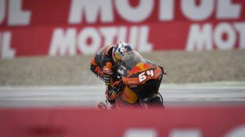 Moto3: FP3: Bendsneyder il migliore sul bagnato, 6° Dalla Porta