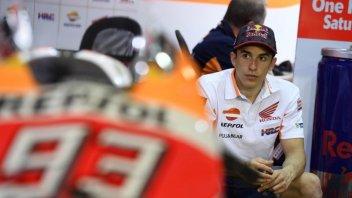 MotoGP: Marquez: cross pericoloso? sul sofà non si migliora