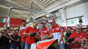 MotoGP: La Ducati festeggia la doppia vittoria di Mugello e Barcellona