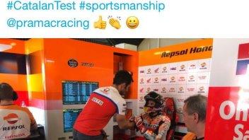MotoGP: Danilo Petrucci chiede scusa a Marc Marquez